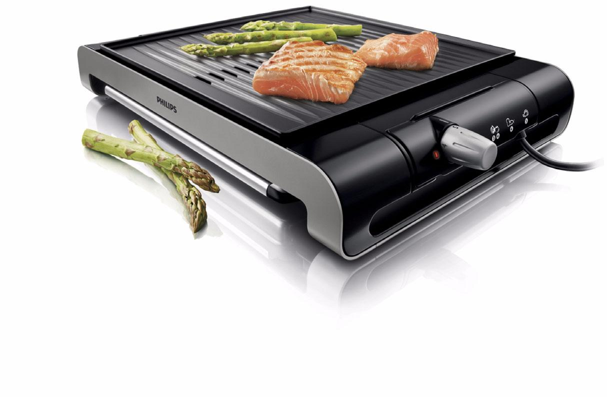 philips tischgrill hd4417 20 barbecue raclette 2000w ebay. Black Bedroom Furniture Sets. Home Design Ideas