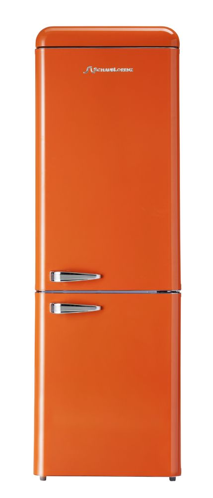 retro k hlschrank orange a 190 cm k hl gefrierkombi sl ebay. Black Bedroom Furniture Sets. Home Design Ideas