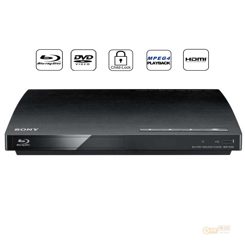 sony bdp s185 blu ray player blue ray dvd player usb dvd ebay. Black Bedroom Furniture Sets. Home Design Ideas