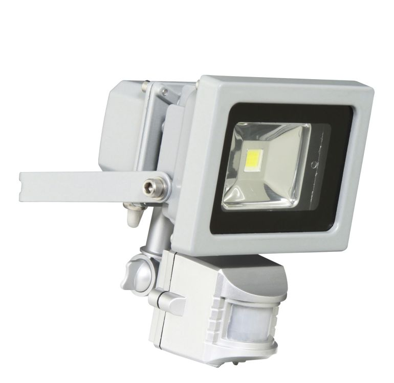 XQ-Lite 1162 SMD LED flood light outdoor wall light with motion detector