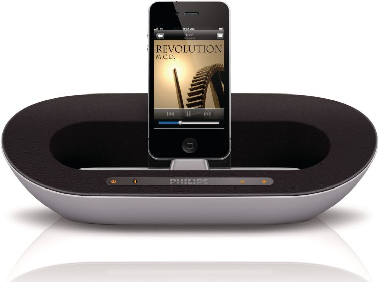 philips ds3500 12 dockingstation bluetooth lautsprecher iphone ipad ebay. Black Bedroom Furniture Sets. Home Design Ideas